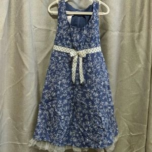 Like new condition Bonnie Jean girls dress